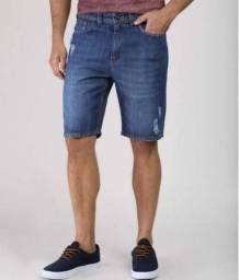 jeans no atacdo bermudas masculina