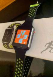 Relógio Smartwatch K1 Bluetooth e entrada para chip ?