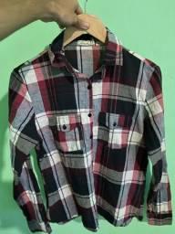 Camiseta xadrez TAM P