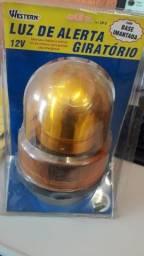Luz de alerta giratório Western LN-0 12V