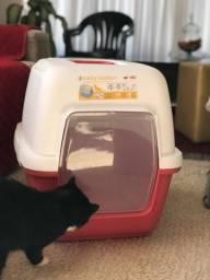 Banheiro Fechado Grande para Gatos Importado