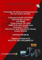 Câmeras de Segurança 24 horas