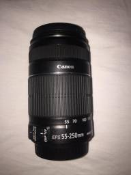 Lente Canon EFS 55-250mm
