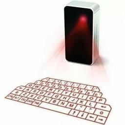 Teclado Laser Wireless Projection Bluetooth E Mouse