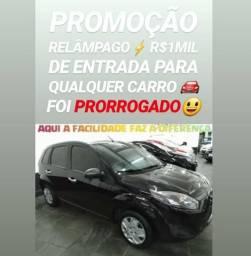Ford/fiesta 1.0 2011 COMPLETO COM R$1MIL DE ENTRADA SÓ NA SHOWROOM AUTOMÓVEIS