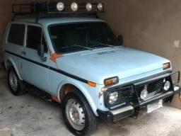 Jeep Lada Niva - 4X4 - Tudo Funcionando - 1991