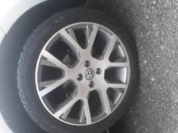 Rodas aro 17 com pneus - 2015