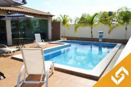 Maravilhosa casa c/piscina e cascata e c/4 suítes em Caldas Novas. Cód 1015