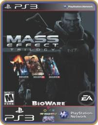 Título do anúncio: Ps3 Mass effect trilogy