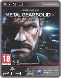 Título do anúncio: Ps3 Metal Gear Solid 5 Ground Zeroes