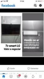 Vendo ar-condicionado 9mil BTUs e TV 32 polegadas