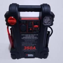 Black & Decker Auxiliar de Partida e Compressor - 350A JS350CC - Novo com Garantia