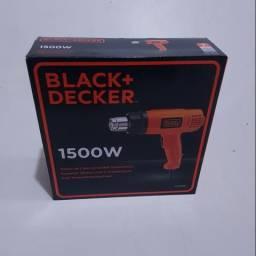 Soprador térmico Black & Decker 1500W - 127V - HG1500 - Novo com garantia
