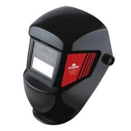 Máscara De Solda C/ Filtro Auto-escurecimento Worker Wk-71 (Novo)