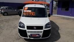 Fiat Doblo Essence 1.8 Flex 16V 5p - Branco - 2019