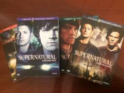 Spernatural DVDs 1,2,3,4 Temporadas
