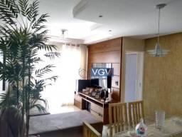 Apartamento mobiliado com 3 dormitórios para alugar, 82 m² por R$ 4.500/mês - Ipiranga - S