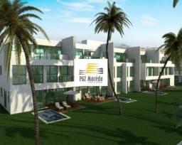 Apartamentos Duplex 04 Quartos na Praia de Toquinho,182 m²,Com Piscina Privativa