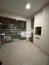 Apartamento com 3 dormitórios para alugar, 75 m² por R$ 2.200,00/mês - Vila Augusta - Guar