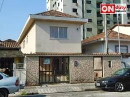 Sobrado residencial à venda, Aparecida, Santos.