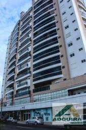 Apartamento duplex com 2 quartos no Edifício Monet - Bairro Centro em Ponta Grossa