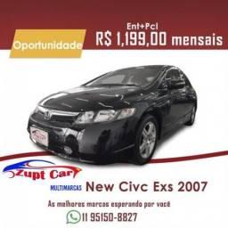 Honda Civic New Civic Exs (Aut) 2007 Financiamento