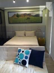 Flat com 1 dormitório para alugar, 50 m² por R$ 2.600,00/mês - Vila Arens - Jundiaí/SP