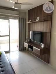 Apartamento com 1 dormitório à venda, 64 m² por R$ 299.000,00 - Aviação - Praia Grande/SP