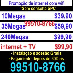 Internet sem consulta spc/serasa internet internet