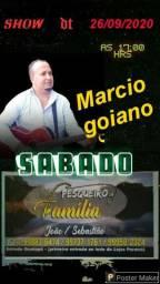 Sou o Marcio goiano moro em Maringá pr sou cantor á 25 anos meus wats *