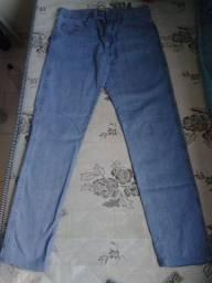Calça Jeans Slim Dubai Masculina - Azul Claro. Muito top
