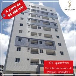 Título do anúncio: Apartamento 03 quartos - Varanda - 86,86 m² - Pertinho da praia do Bessa