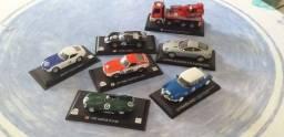 7 lindas miniaturas: Aston Martin, Toyota, etc. Frete Gratis!