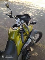 Suporte para colocar o celular na moto de inox