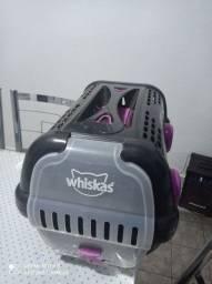 Transportador whiskas para  gatos ou cães novinho nunca usado por animal nenhum
