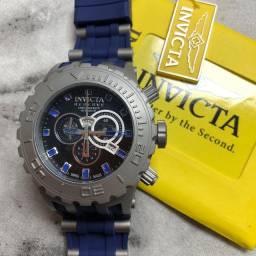 Relógio Invicta, 1 ano de garantia do maquinário