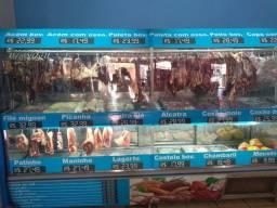 Casa de carne e mercearia