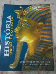 Livro História geral e do Brasil 2a edição Neto Tasinafo