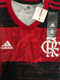 Camisa do Flamengo N°1 20/21 Original