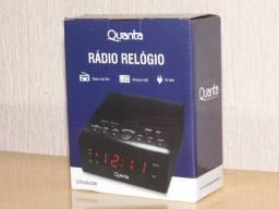 Lindo Radio relogio Quanta 110/220v am/fm todo digital produto novo em Poa-rs