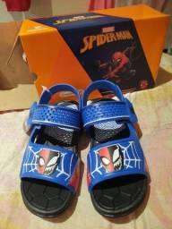Sandália do homem aranha /Sapato Krisle