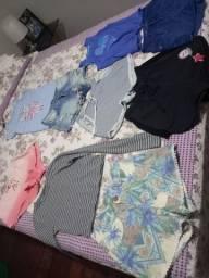 Lote de 9 roupas femininas n.36/38 todas semi novas ,algumas de marca