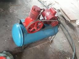 Compressor de ar motor1/3 hp novo revisado