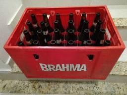 Caixa de Cerveja Com Garrafas