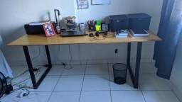 Mesa Estilo Industrial Para Estudos e Afins