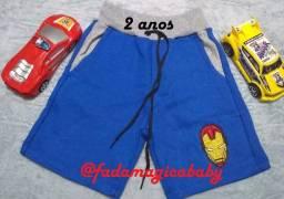 Shorts Infantil 2 Anos