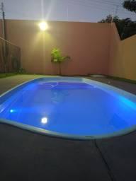 Título do anúncio: Salão de festa com piscina