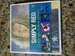 Box com 5 cds Simply Red