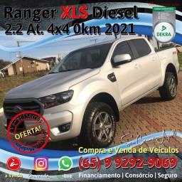 Título do anúncio: Ranger 4x4 XLS 2.2 At. Diesel 2021