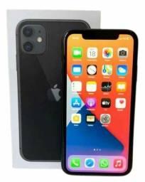 Iphone 11 lacrado original black <br>Por R$4.700